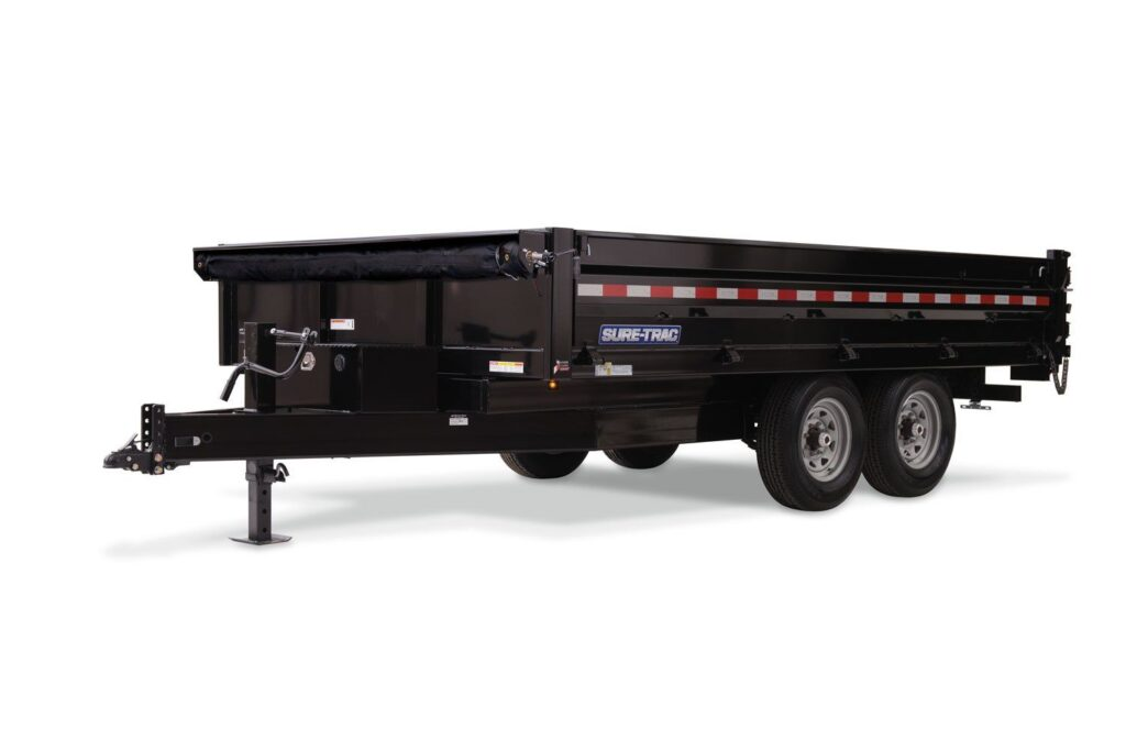 HD Deckover Dump With Fold-Down Sides 1