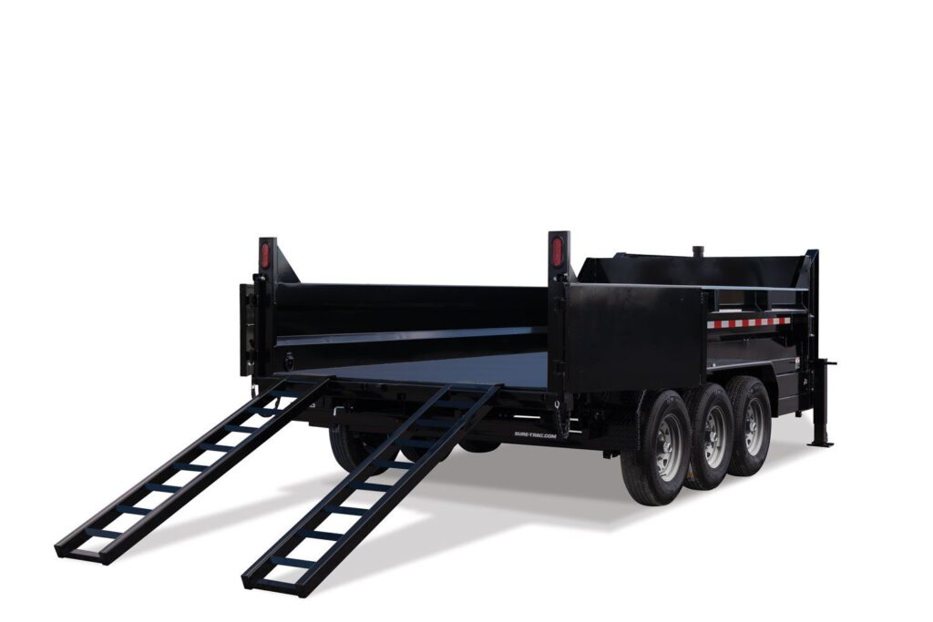 LOE-HD Low Profile Tri-Axle Dump 1